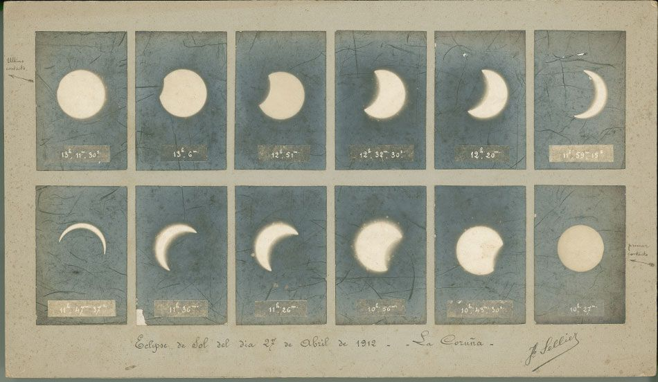 Eclipse solar (A Coruña, 1912)