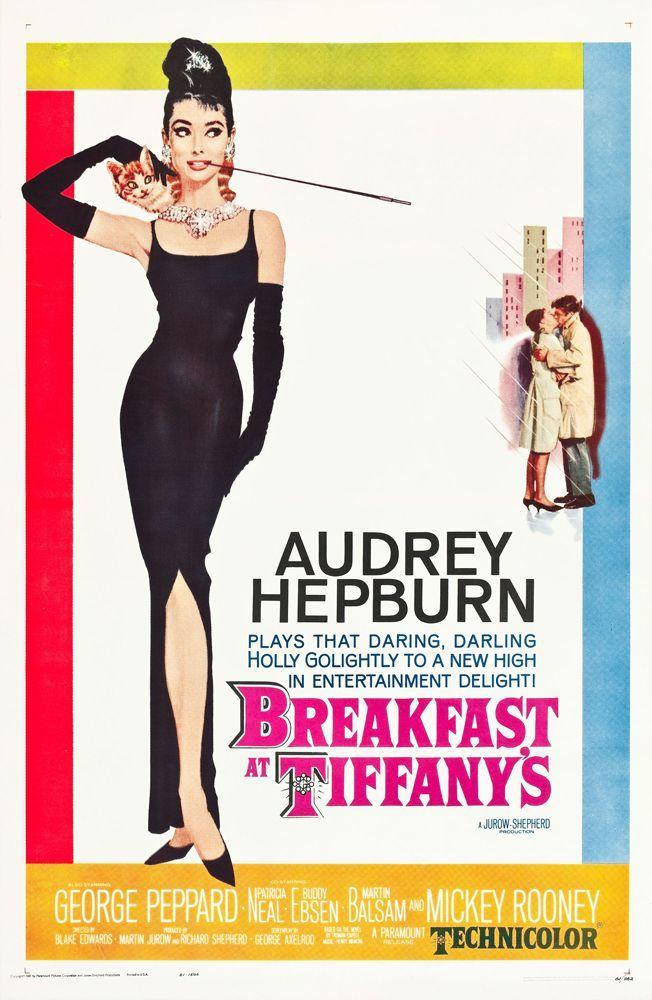 Breakfast at Tiffany's de Blake Edwards, 1961
