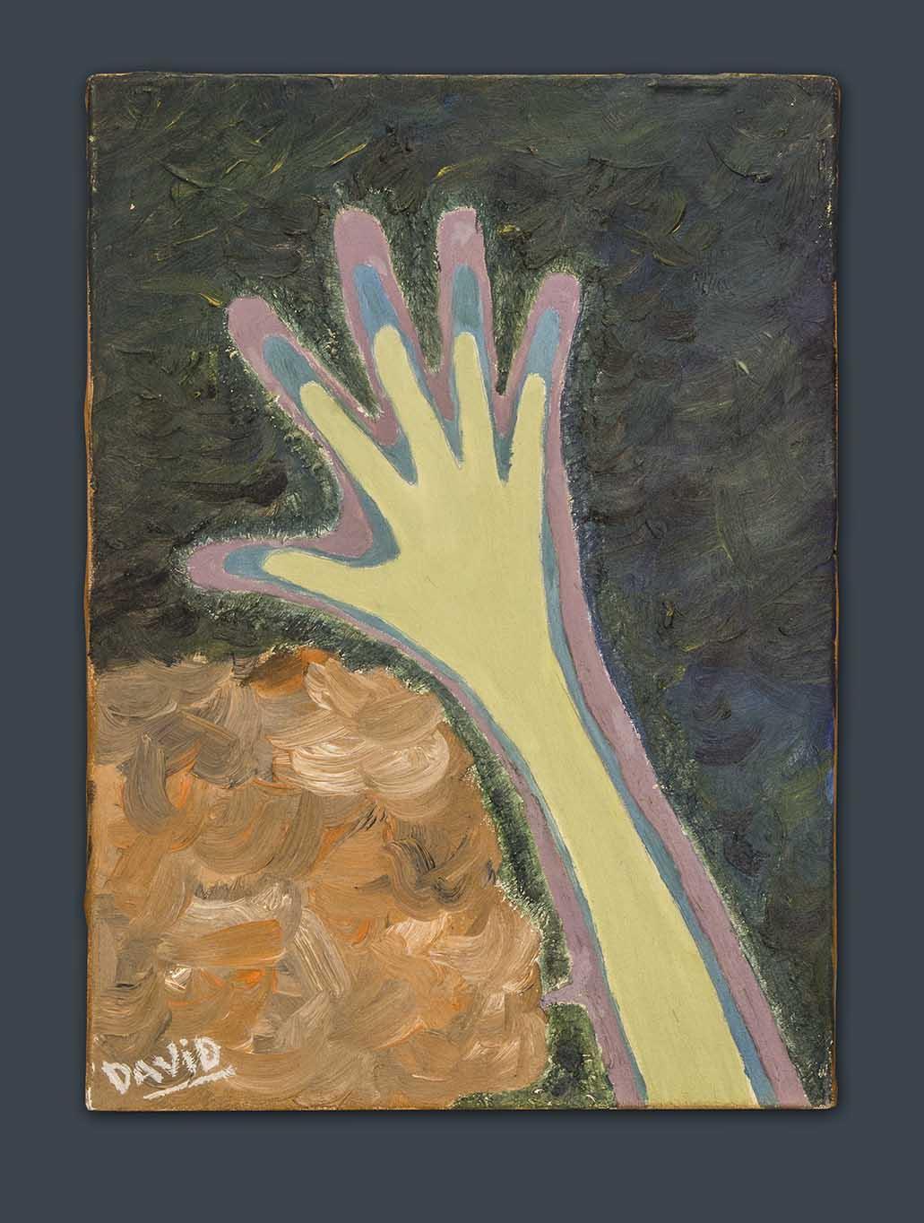 Insuflando vida pintura al óleo de David Pérez Pol
