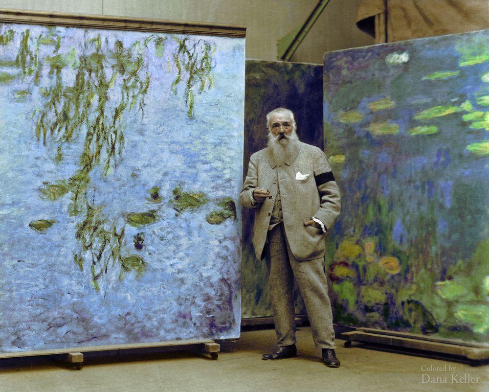 Claude Manet, pintor