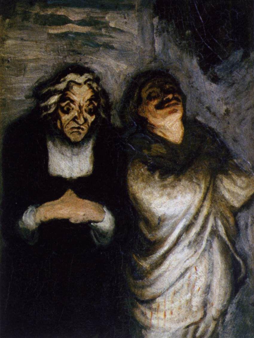 Honoré Daumier, Marsella, 1808-1879