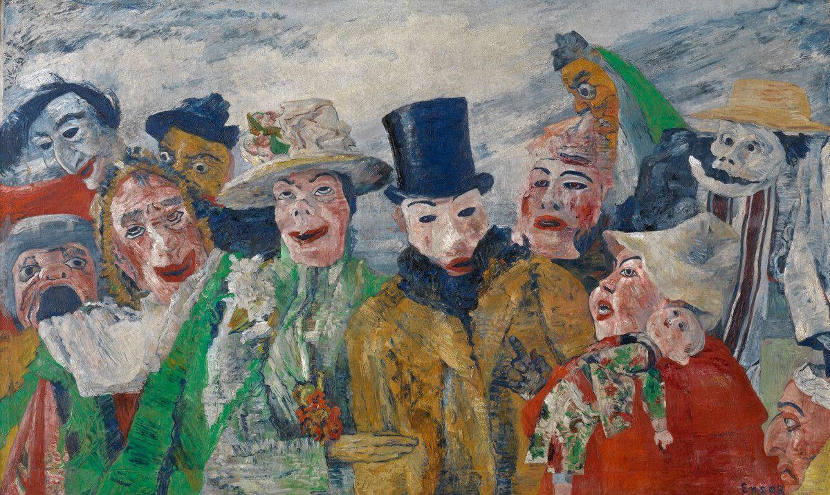James Ensor, pintor