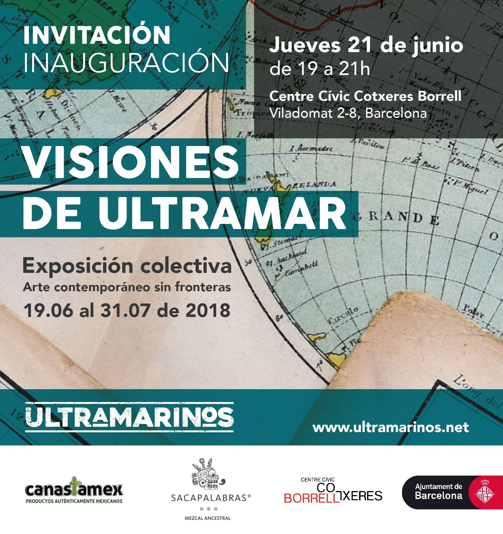 Exposición colectiva Visiones de ultramar 2018