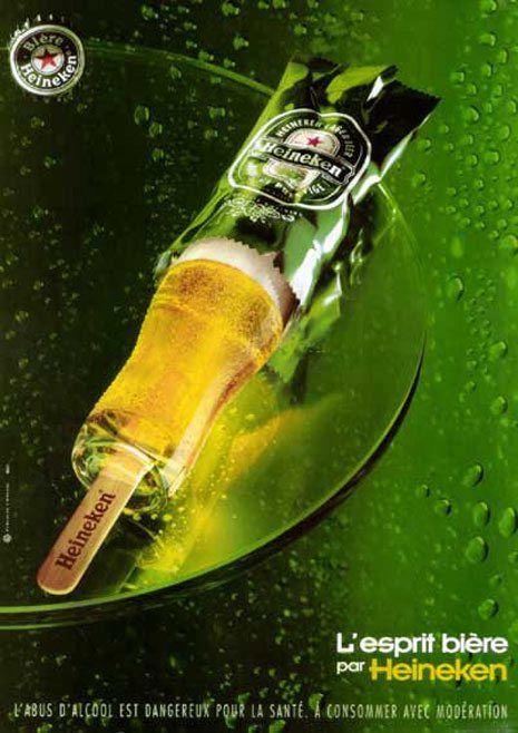 Heineken Poesía Visual Publicidad