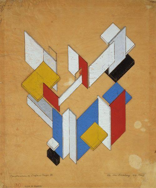 Theo van Doesburg, poeta visual