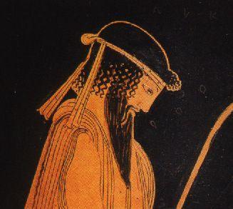 Alceo de Mitilene, poeta, Mitilene (Lesbos), 630 a.C.-580 a.C.