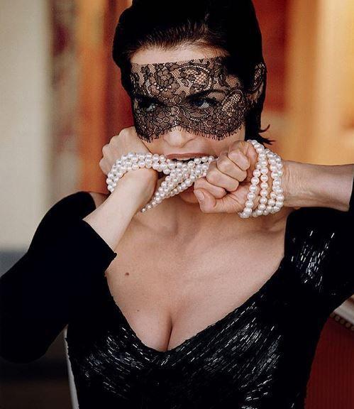 Anna Galiena, Roma, 1954