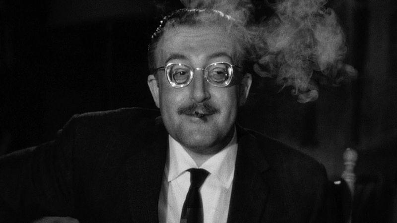 Personajes de Peter Sellers para Stanley Kubrick
