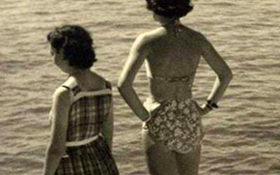 El primer bikini que se vio en España
