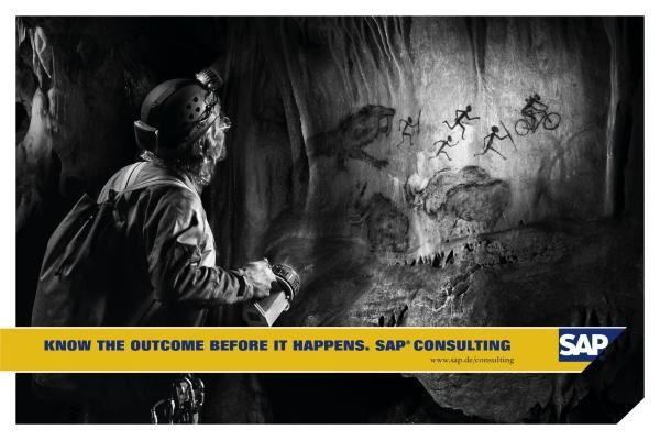 SAP Consulting Poesía Visual Publicidad