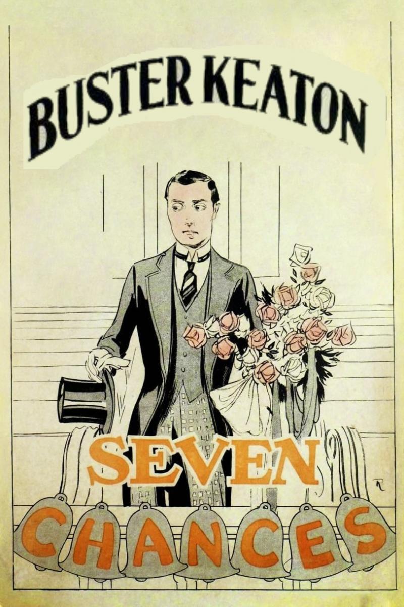 Seven chances dirigida por Buster Keaton, 1925