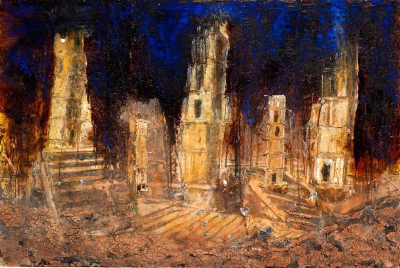 Anselm Kiefer, pintor