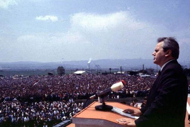 Discurso de Gazimestan pronunciado por Slobodan Milošević el 28 de junio de 1989