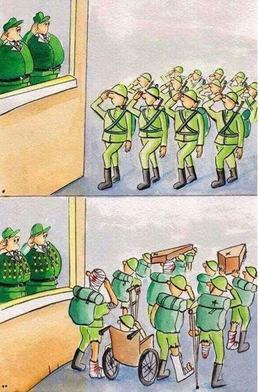Desfile militar Humor Gráfico 190