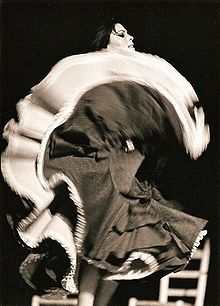 Actuación de Antoñita La Singla en 1965