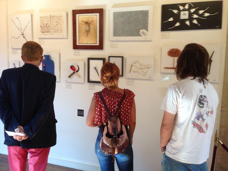 Exposición colectiva en Cultur3 Club 2018 (Gijón)