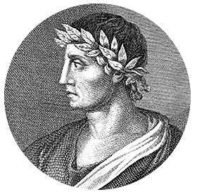 Publio Papinio Estacio, poeta, Nápoles, 45-96