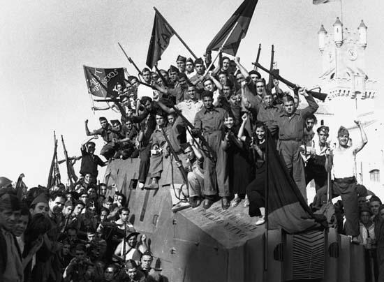 Discurso a los integrantes de la Columna Durruti en Bujaraloz pronunciado por Buenaventura Durruti el 1 de agosto de 1936