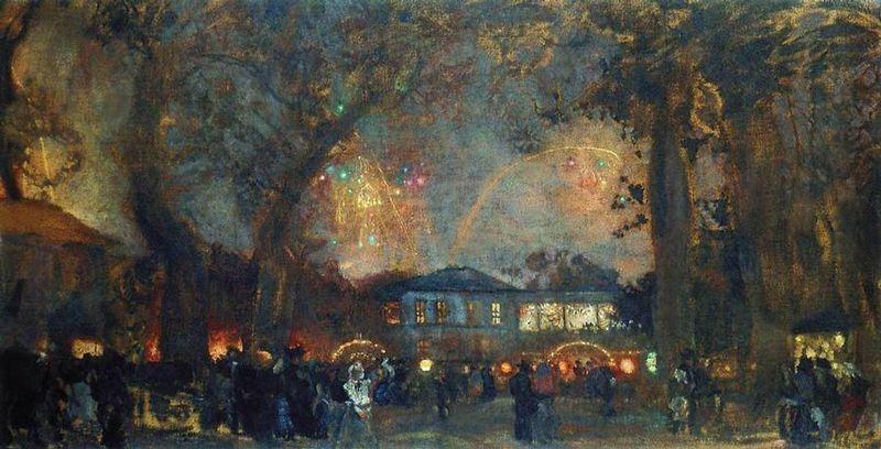 Isaak Brodsky, pintor, Ucrania, 1884-1939