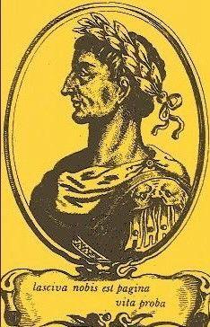 Marco Valerio Marcial, poeta, Bílbilis (actual Calatayud), 40-104