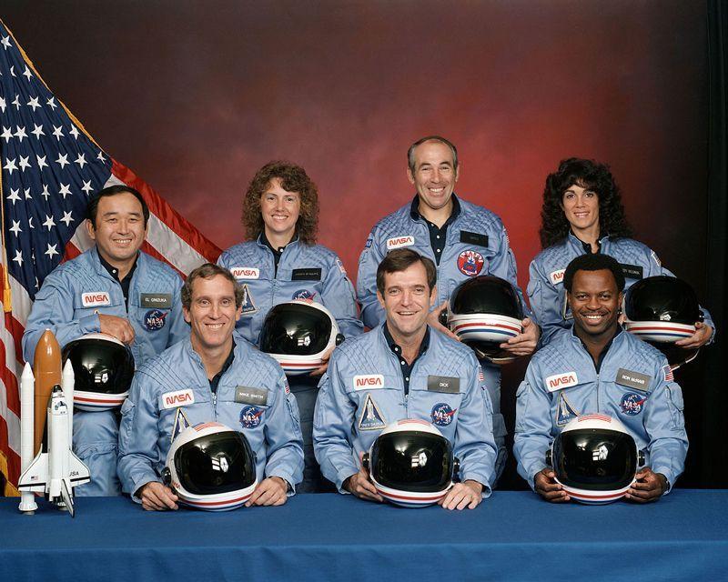 Accidente del transbordador espacial Challenger en 1986