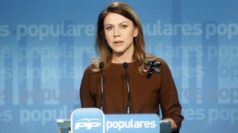 Indemnización en diferido por María Dolores de Cospedal