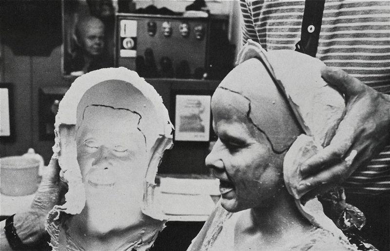 Rodaje de El exorcista dirigida por William Friedkin, 1973