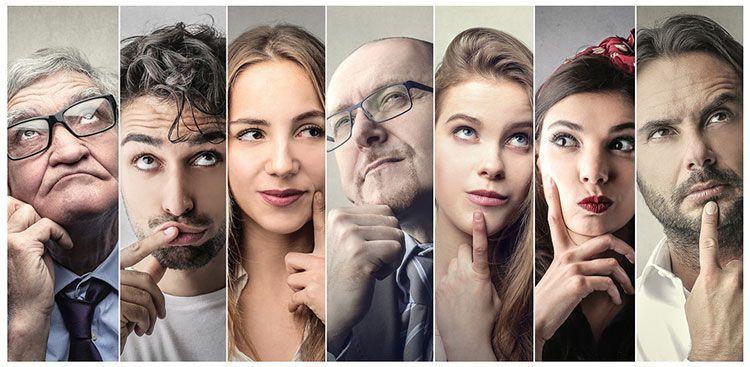 Infografías tipos de personalidad