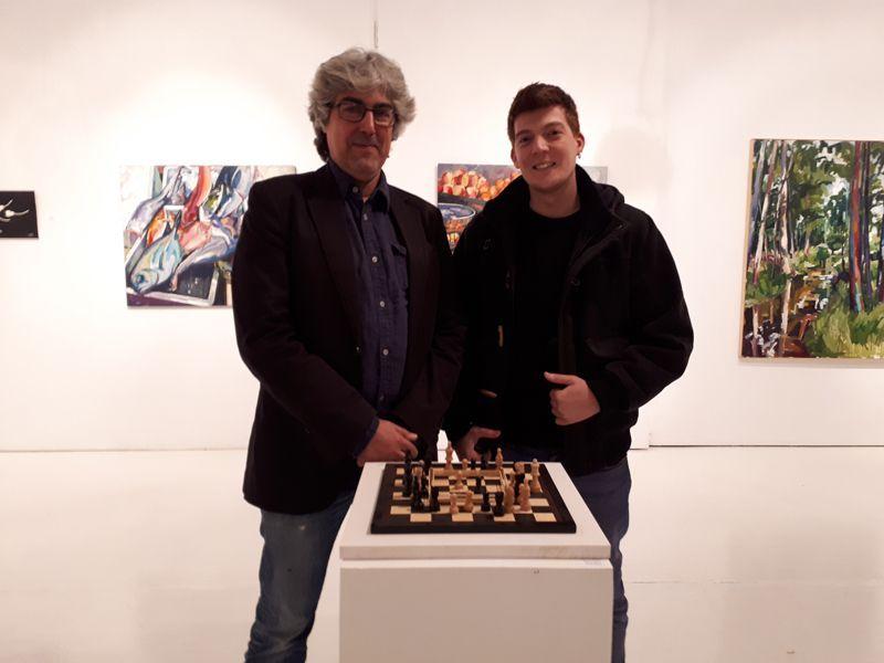 Inauguración exposición colectiva en Galería Art Cuestion (Noviembre 2018)