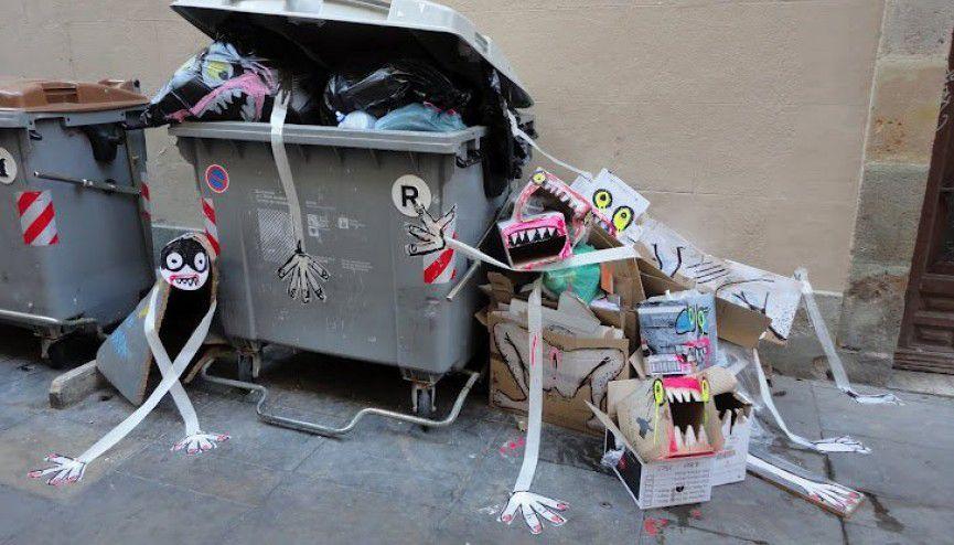 El arte contemporáneo es un reciclaje de basura por Annie Le Brun