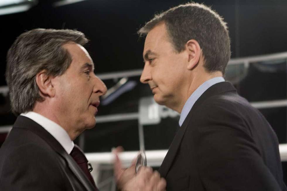 Conversación en off entre Zapatero y Gabilondo, 11 de febrero de 2008