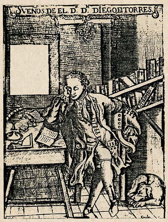 Diego de Torres Villarroel, poeta, Salamanca, 1694-1770