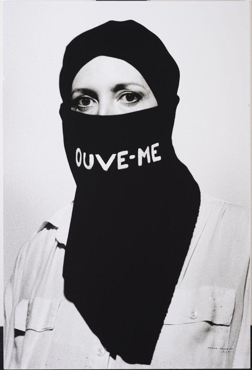 Helena Almeida, poeta visual