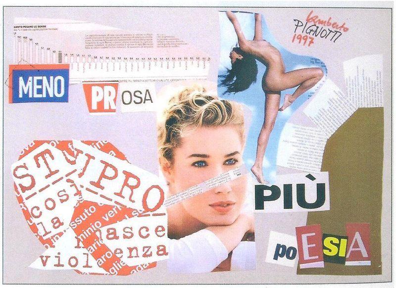 Lamberto Pignotti, poeta visual