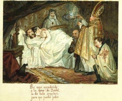 Los Borbones en pelota (Isabel II)