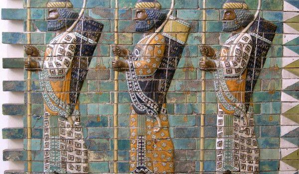 Friso de los arqueros de Susa, 510 a.C.