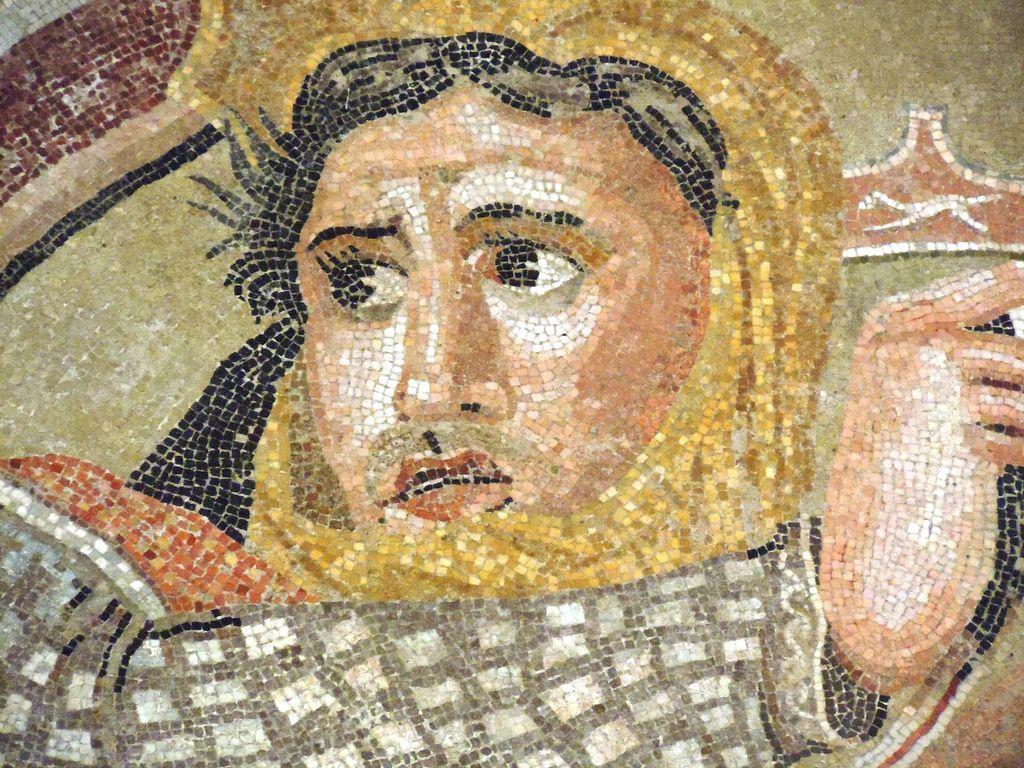 Mosaico de la batalla de Issos, 325 a.C.
