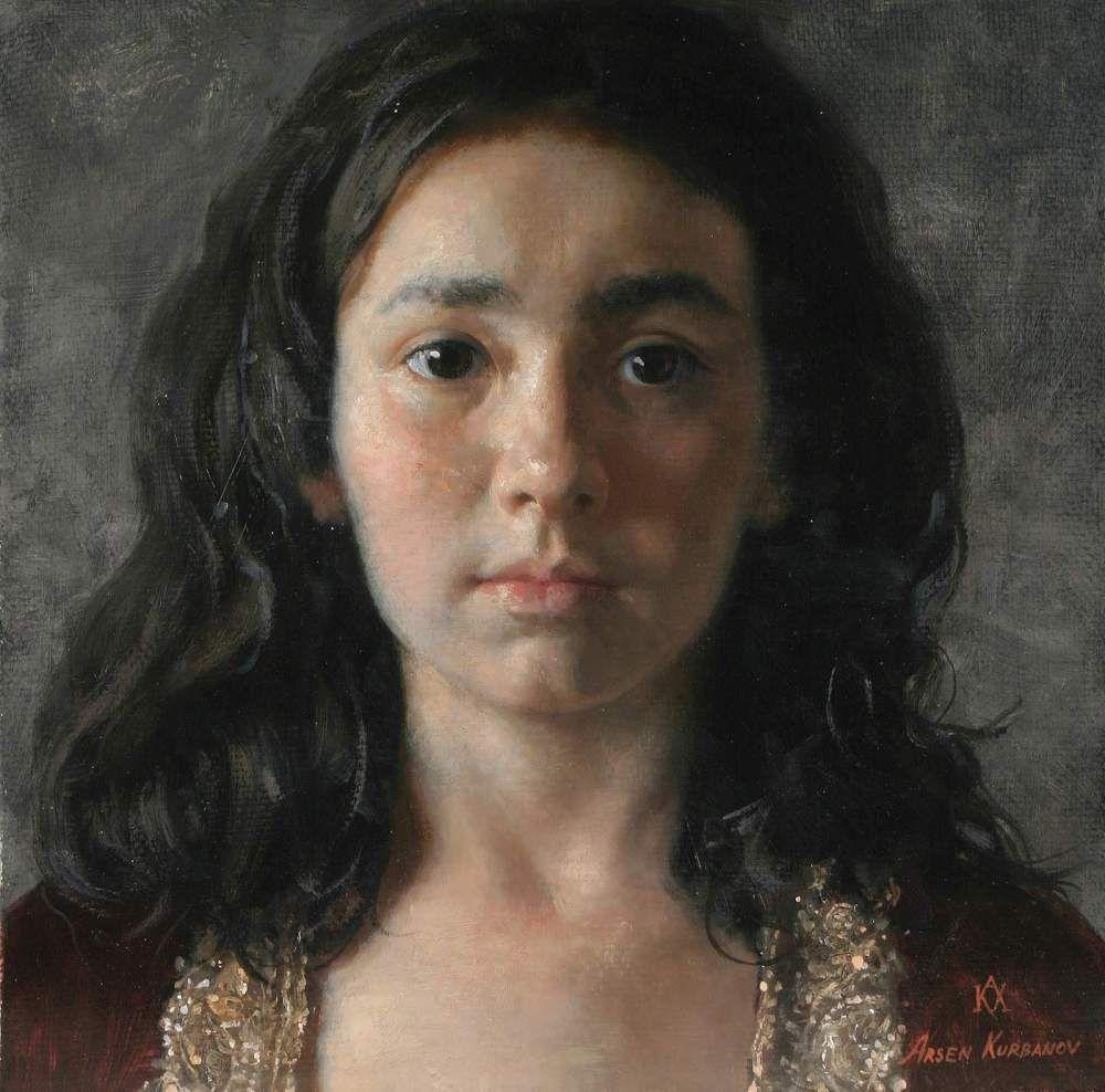 Arsen Kurbanov, pintor, Daguestán (Rusia), 1969