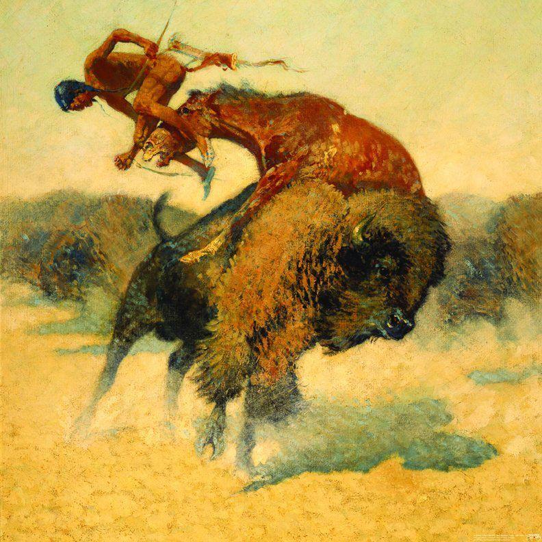 Frederic Remington, pintor, New York, 1861-1909