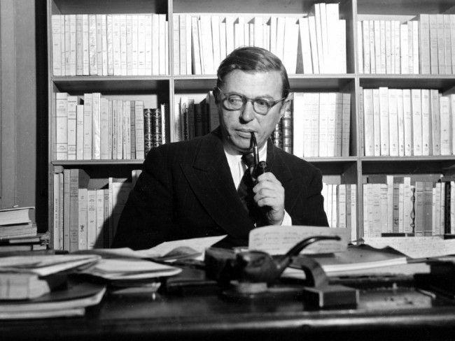 Discursos de Jean-Paul Sartre