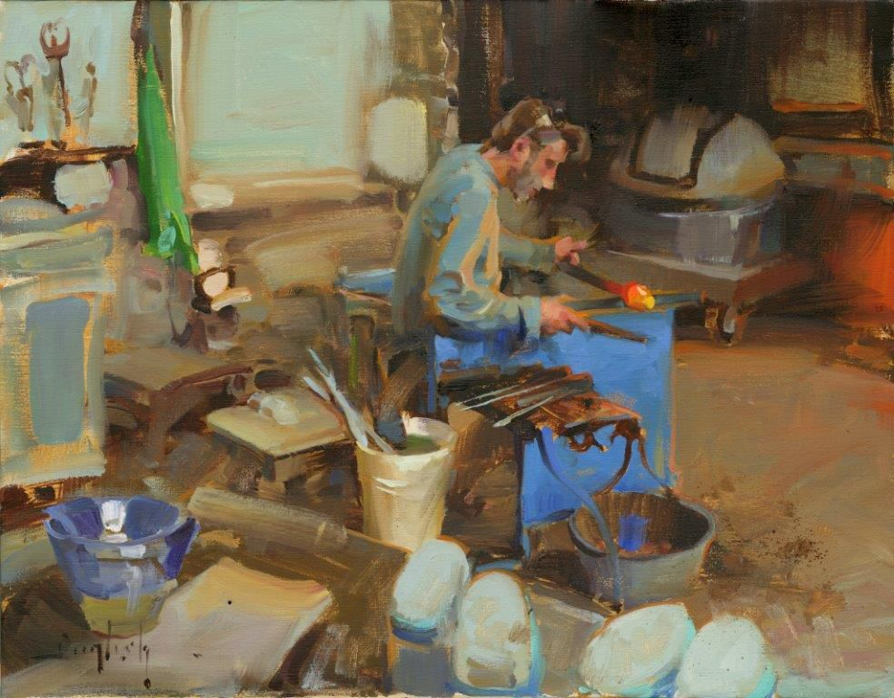 Kim English, pintor, Omaha (Nebraska), 1957