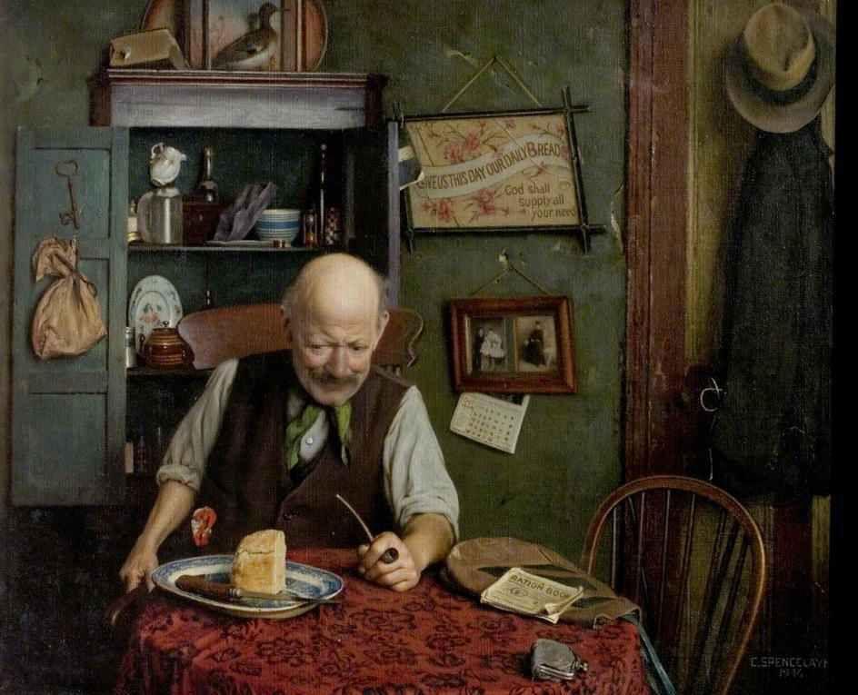 Charles Spencelayh, Rochester (Inglaterra), 1865-1958