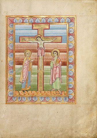 1025-1050,  Crucifixion. Dinastía Otoniana (Alemania)