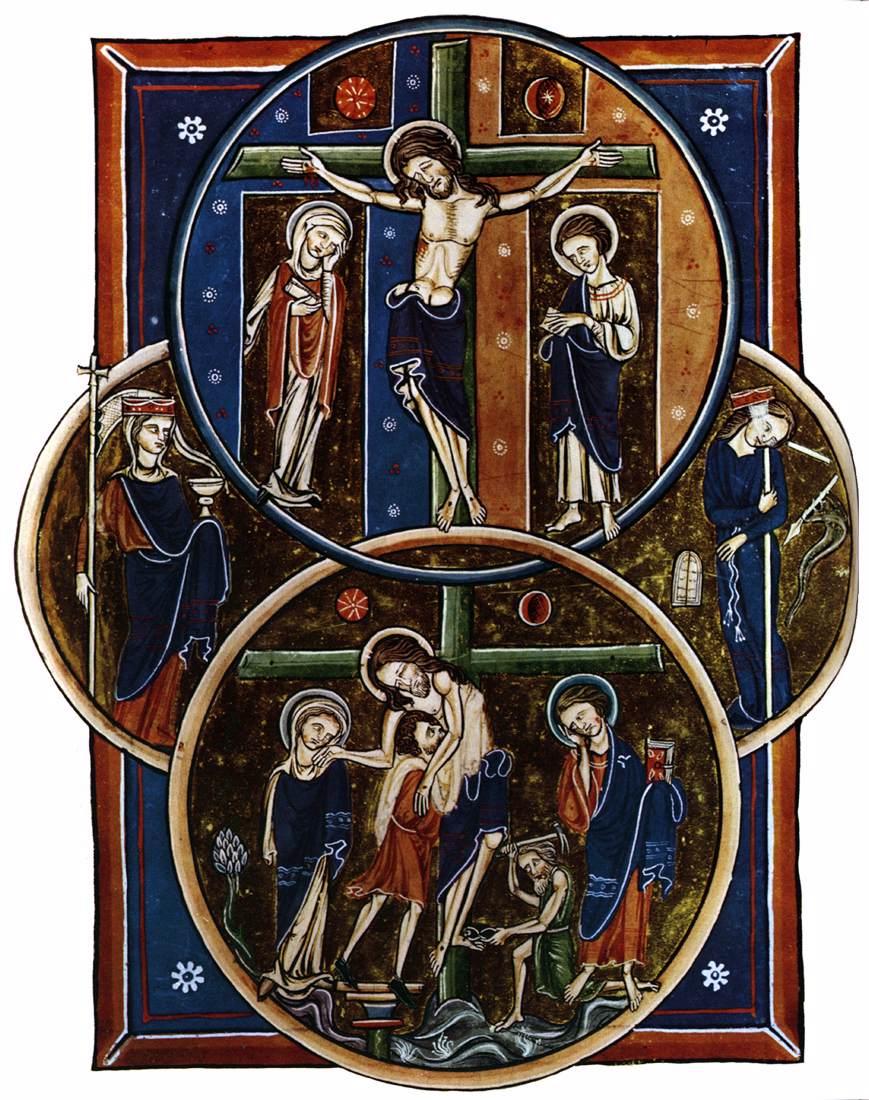 1235, Pergamino Salterio de Blanca de Castilla (Anónimo, París)