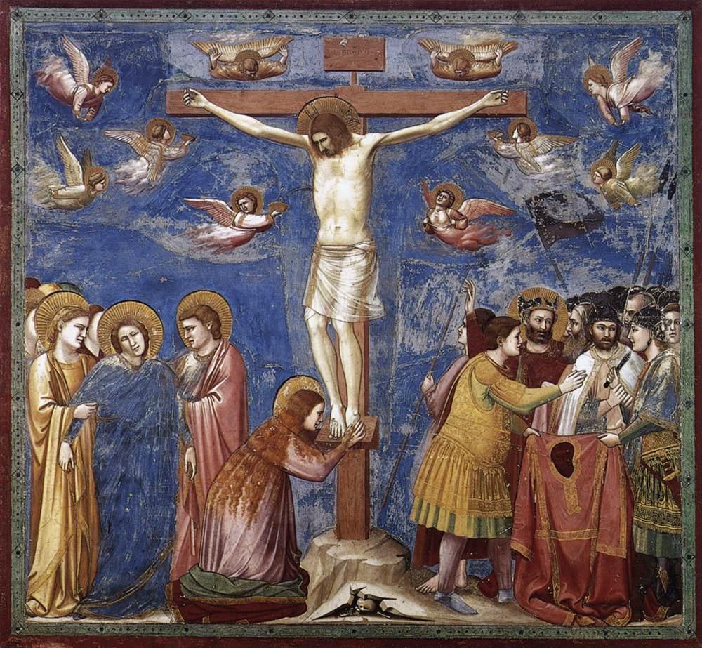 1270, Cristo crucificado por Guido de Siena