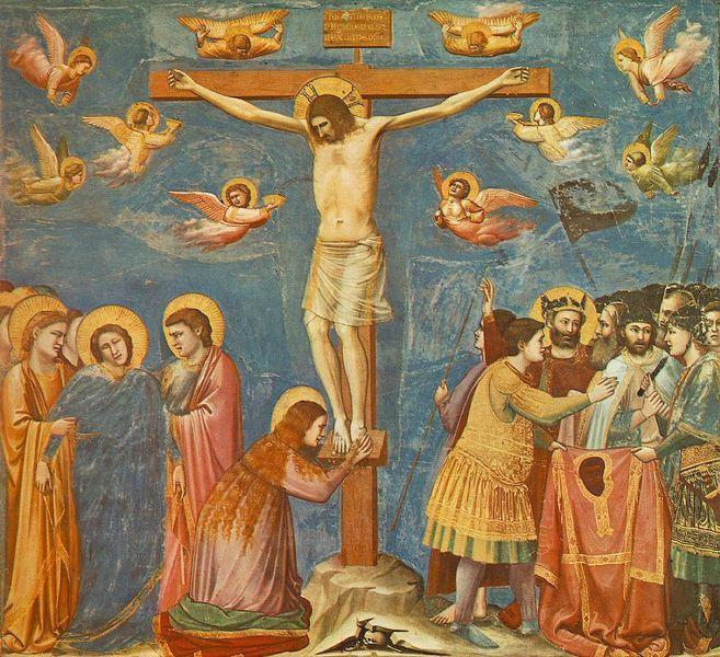1305 The Crucifixion,(Giotto di Bondone)