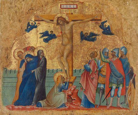 1340-1345, The Crucifixion de Paolo Veneziano (Samuel H. Kress Collection)
