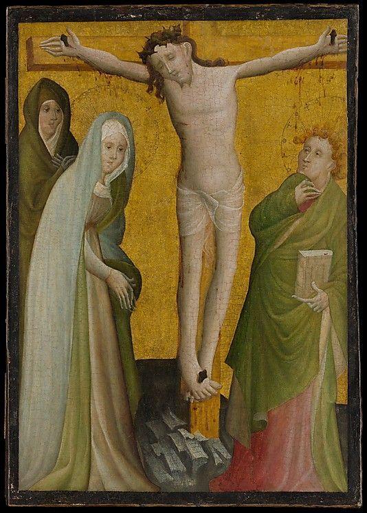 1400, La Crucifixión del Maestro de la Berswordt Altar (Baviera, Alemania)