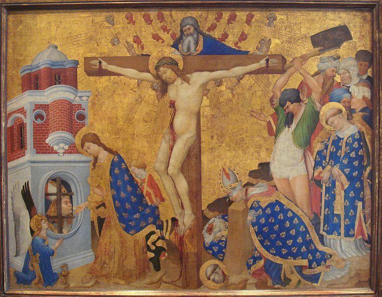 1415-16, Retablo de La última comunión y el martirio de Saint Denis (París) de Henri Bellechose