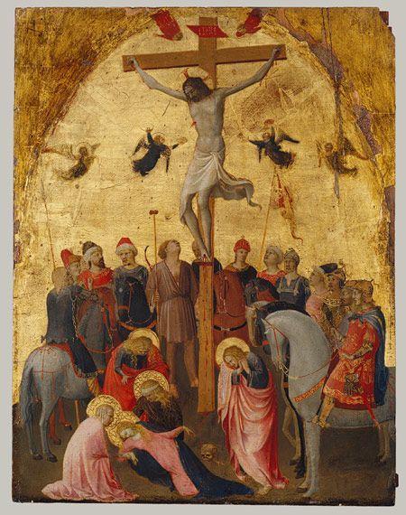 1420-23, La Crucifixión de Fra Angelico (Guido di Pietro)